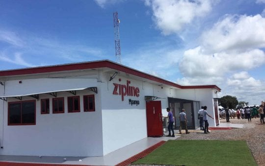 Medical drone delivery: Second distribution station in Ghana now operational