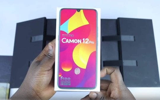 Tecno Camon 12 Pro: Full phone specifications, price and more