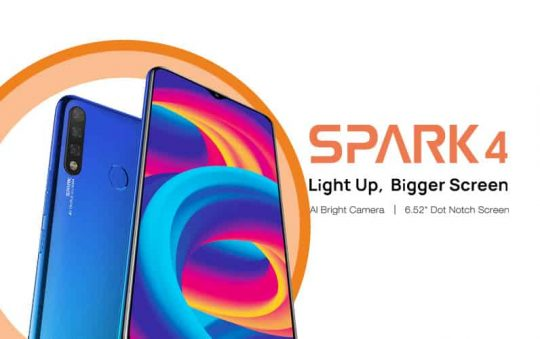 TECNO Spark 4: Full phone specifications, price and more