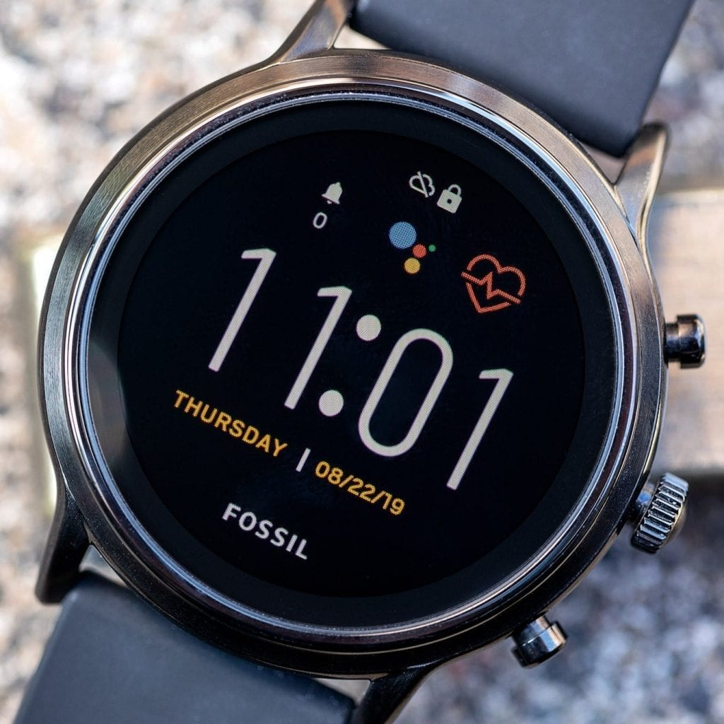 Fossil Carlyle Gen 5 best smartwatches for Android users