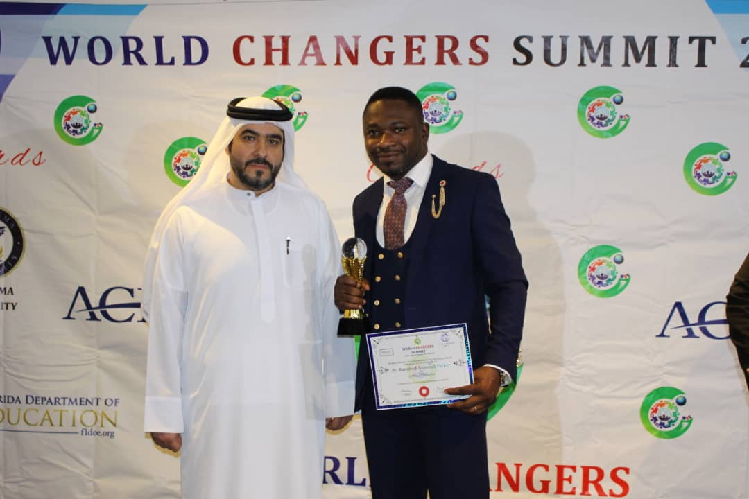 Ransford Parker honored at World Changers Summit 2019