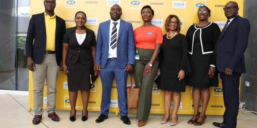 MTN, Ecobank, Samsung introduce customer device financing programme