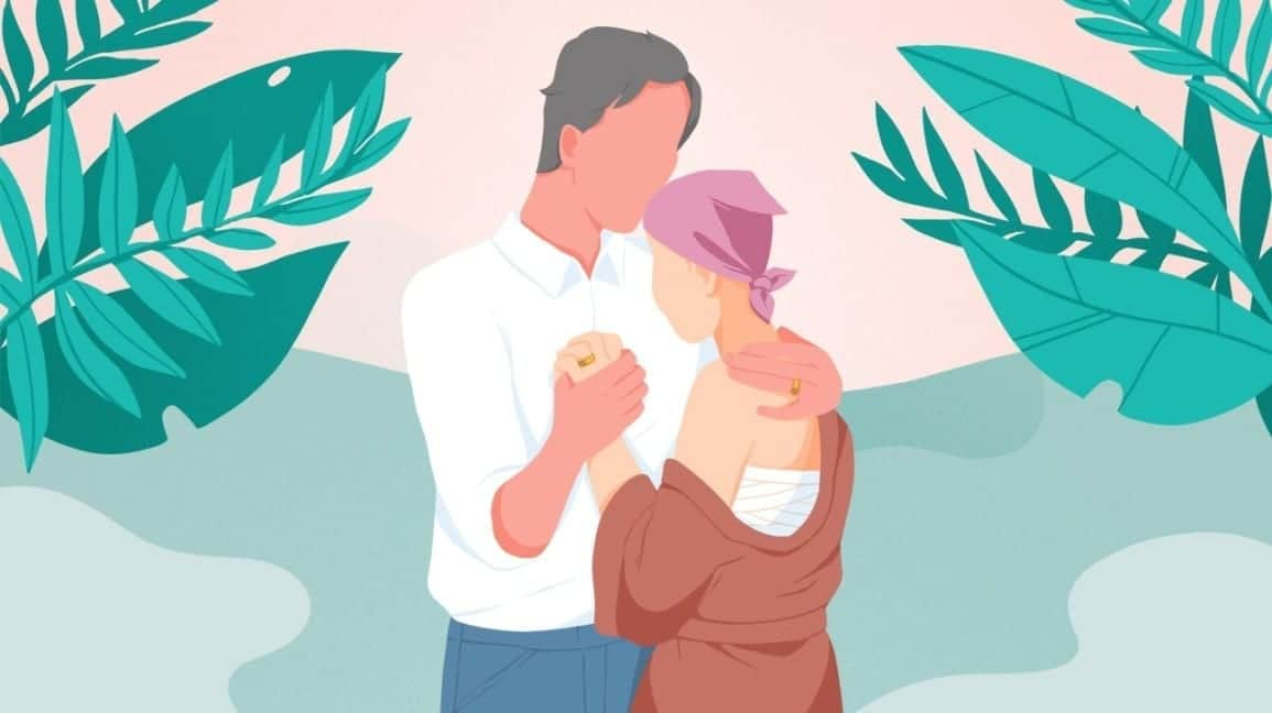 What It's Like to Watch Your Wife Go Through Breast Cancer