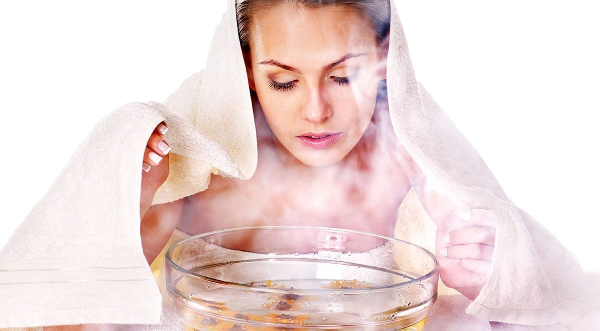 Image result for facial steaming