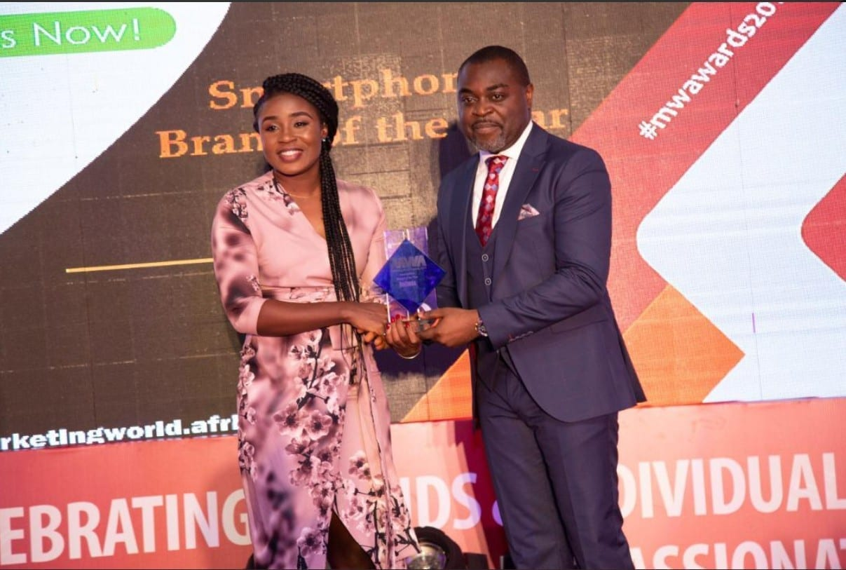 Infinix Ghana wins Smartphone Brand of the Year at the 9th Marketing World Awards