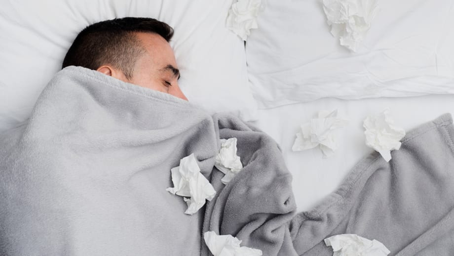 Sleeping tips you need when you have a cold