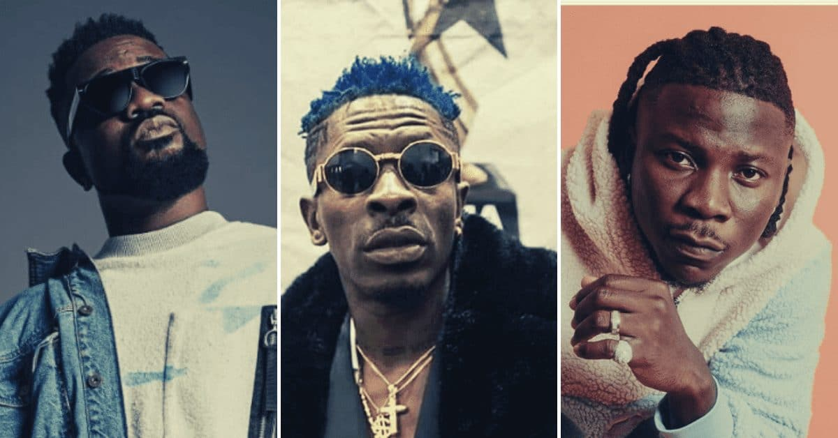 Sakodie, Shata Wale,Stonebwoy to compete for the 'Overall Best Video' at the MTN 4Syte MVA on November 16