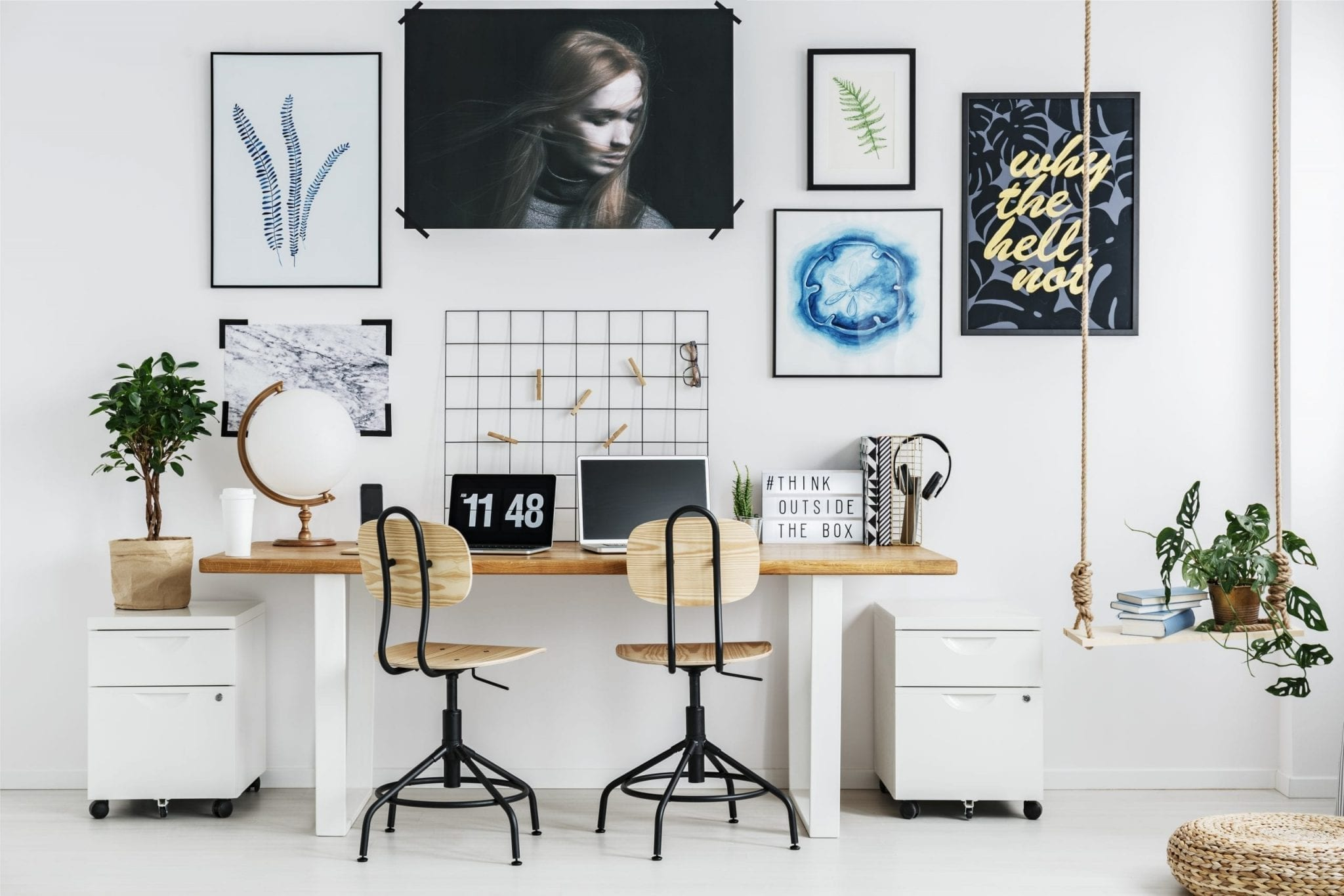 How can you upgrade your office by not going too deep in your pockets