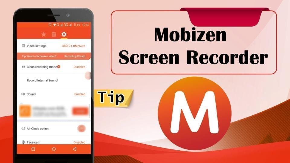 Mobizen Screen Recorder best android screen recorder