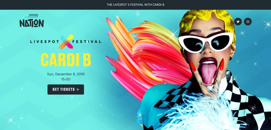 How to buy your Livespot X Festival tickets and get to see Cardi B performHow to buy your Livespot X Festival tickets and get to see Cardi B perform