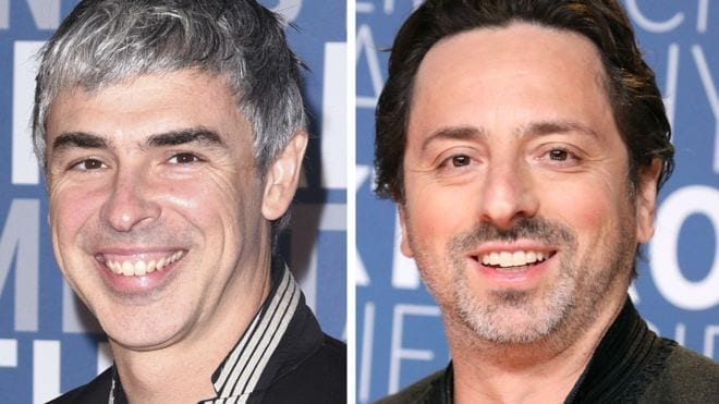 Google's co-founders step down from their positions