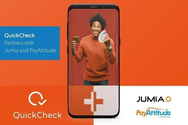 QuickCheck partners with Jumia to deepen credit access