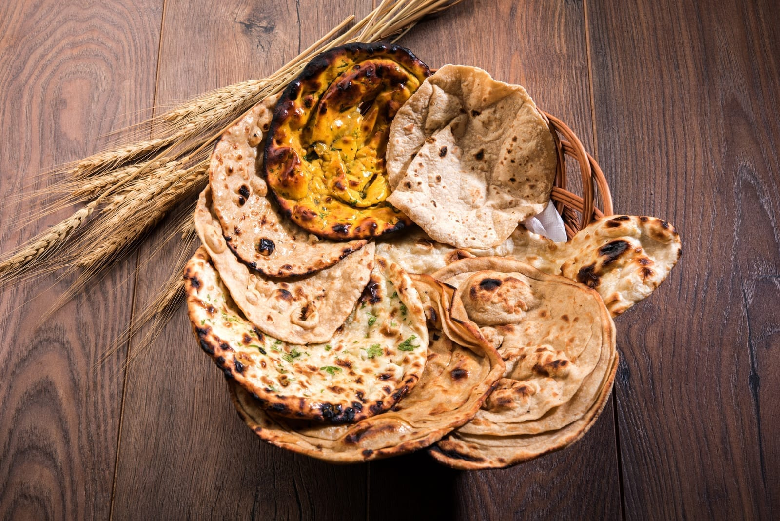 Types of low-calorie Rotis beneficial for your health