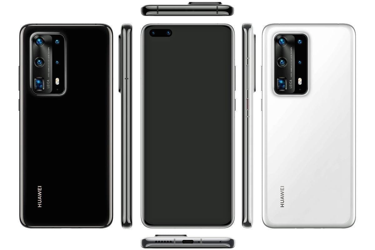 Huawei P40 Pro renders leaked with 5 rear cameras