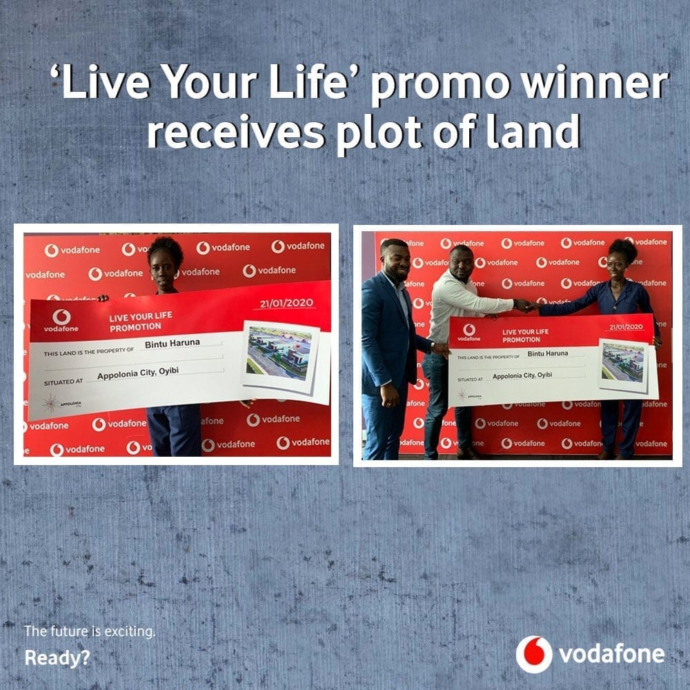 Vodafone Live Your Life promo