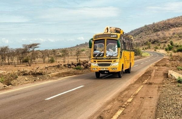 African countries you can visit by road