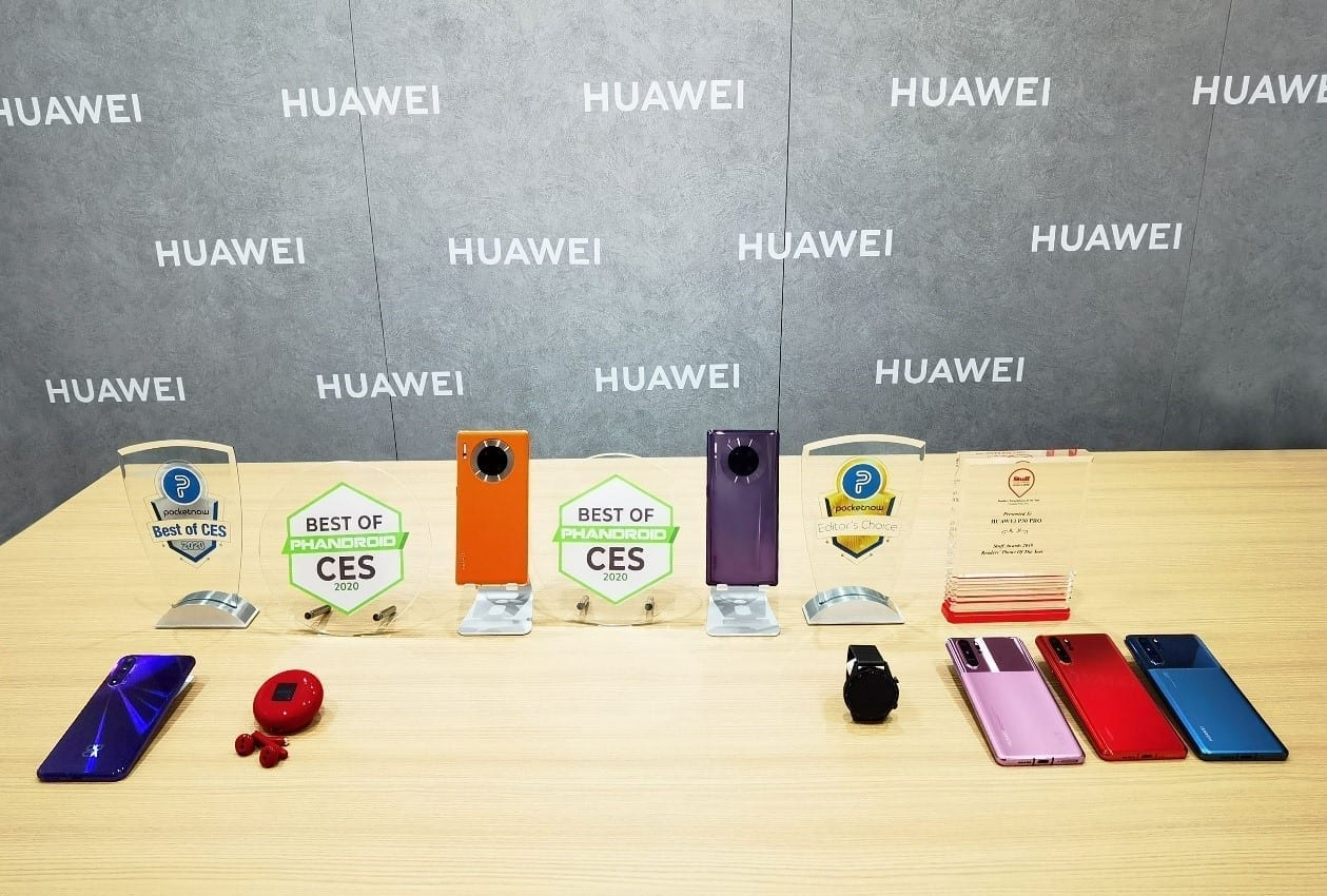 """HUAWEI FreeBuds 3, HUAWEI WATCH GT 2 Won """"Best of CES2020"""" and """"Editor's Choice"""" Awards"""
