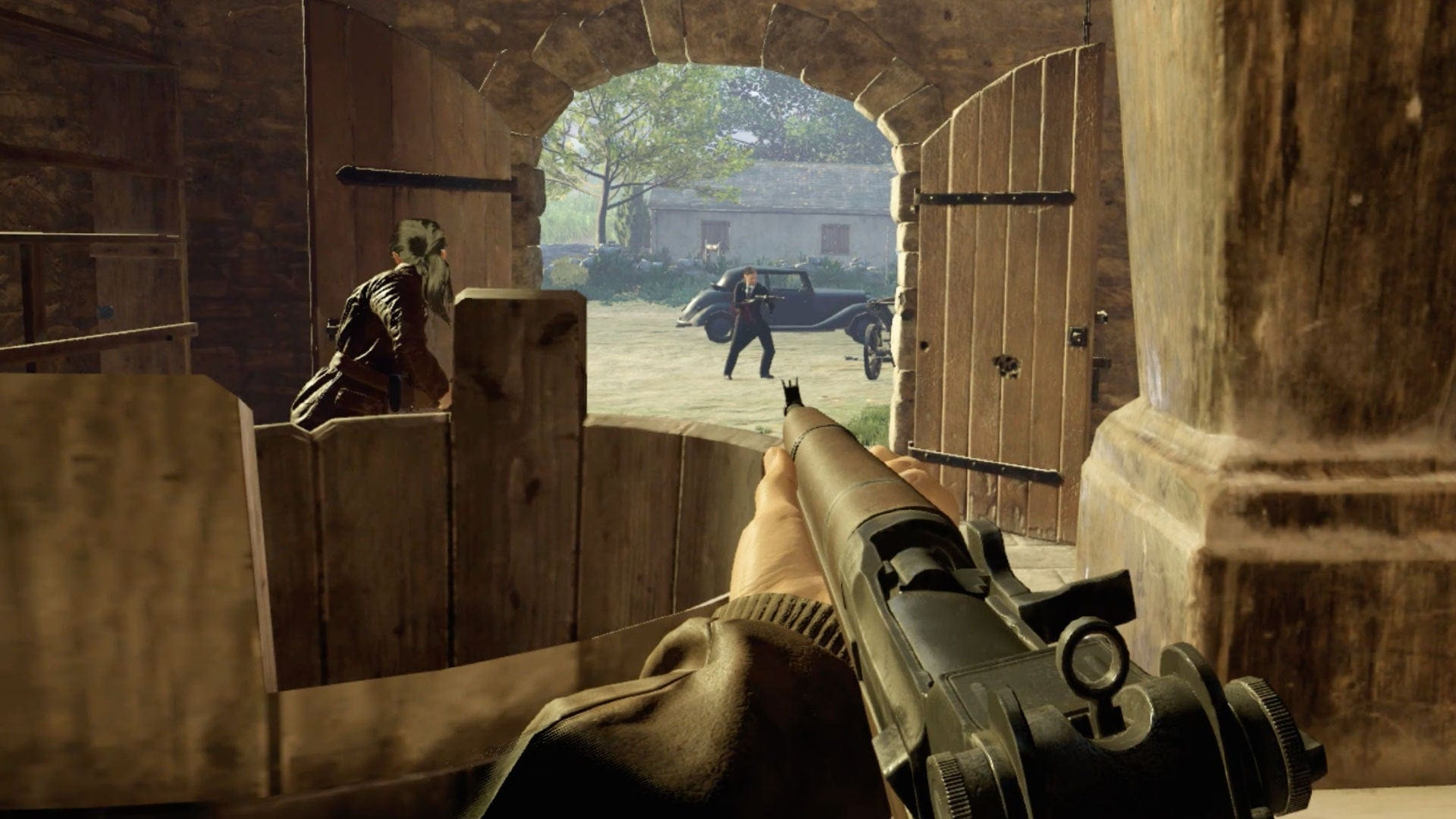 First person shooter games