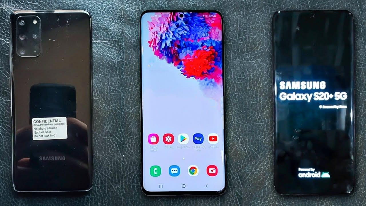 Samsung Galaxy S20 Plus leaks again; features 120Hz display