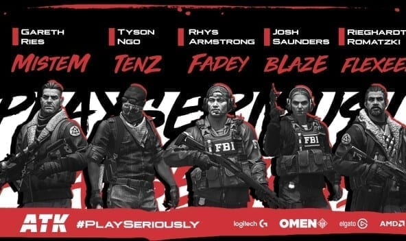 ATK CS:GO team qualifies to the Middle East Closed Qualifiers for ESL One Rio 2020