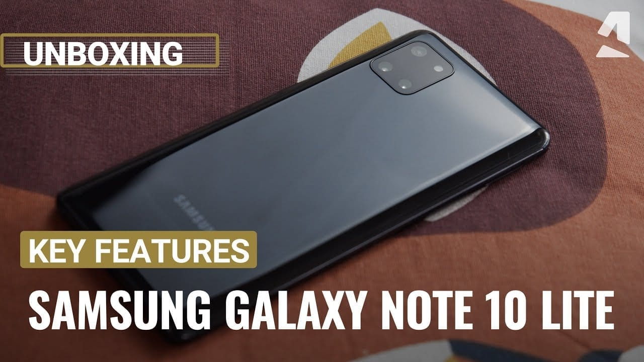 VIDEO: Samsung Galaxy Note 10 Lite review