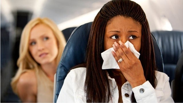 Here's why you smell horrible when traveling