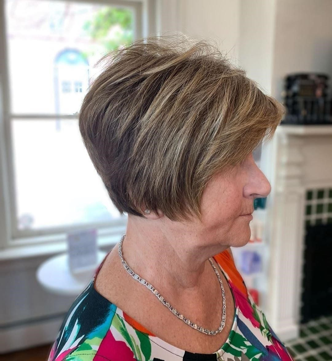 Classy Hairstyles for Women Over 60