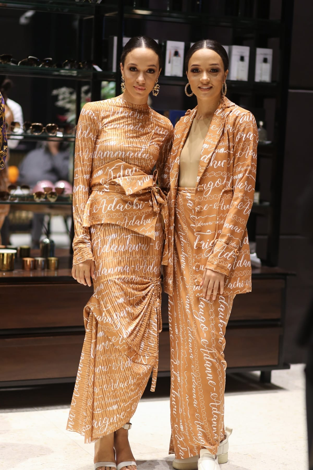 Popular Nigerian celebrities you didn't know are twins