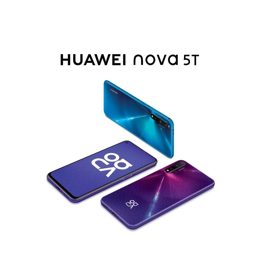 HUAWEI nova 5T beating competition with 5 AI camera, SuperCharge feature and a flagship-grade performance