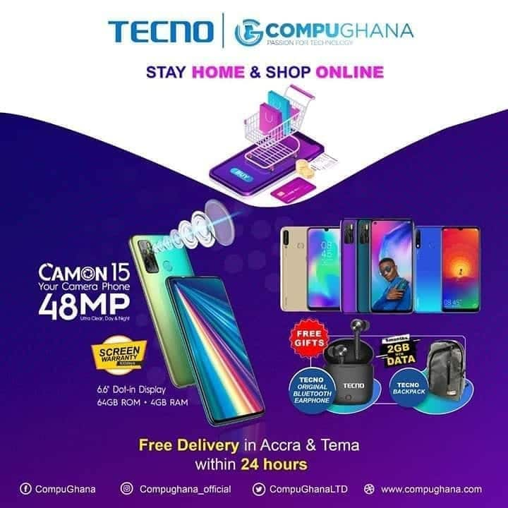 Here's how to buy a TECNO phone and get FREE delivery during COVID-19 lockdown