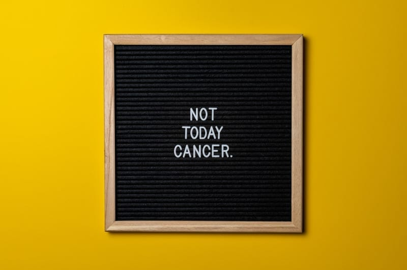Early symptoms of cancer in men
