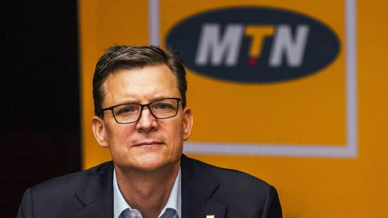 MTN President and Group CEO, Rob Shuter