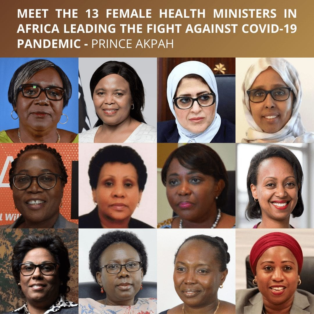 Covid 19: Meet the 13 female Health Ministers in Africa leading the fight against Covid-19 pandemic