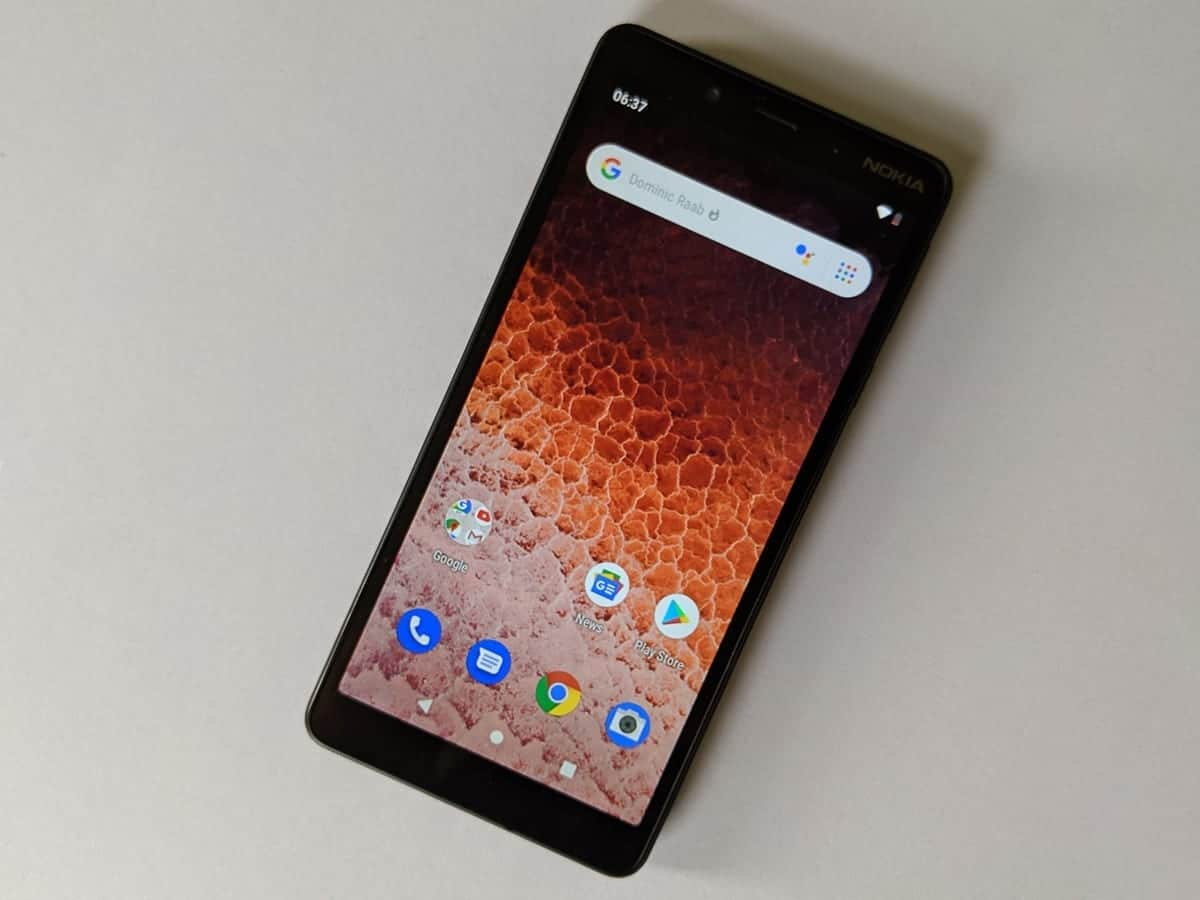 Nokia 1 Plus is currently receiving the update to Android 10