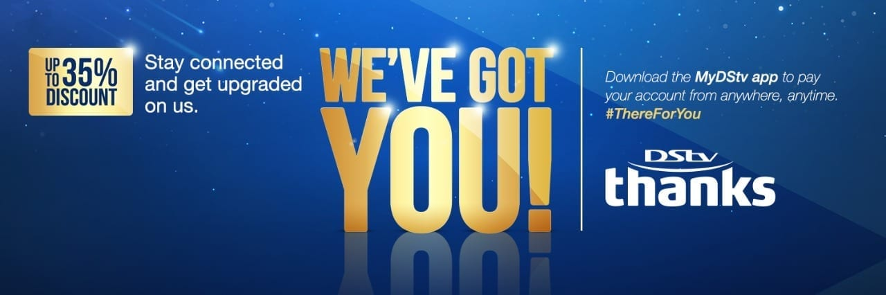 DStv Thanks & GOtv Wow rewards customers for staying connected