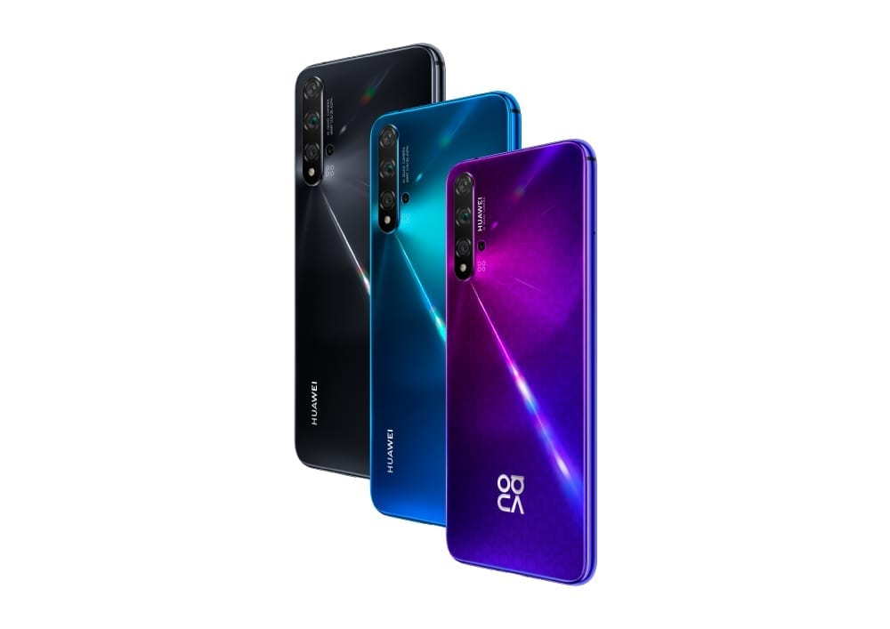 Show off your cooking skills with Huawei Nova 5T's innovative 5AI cameras