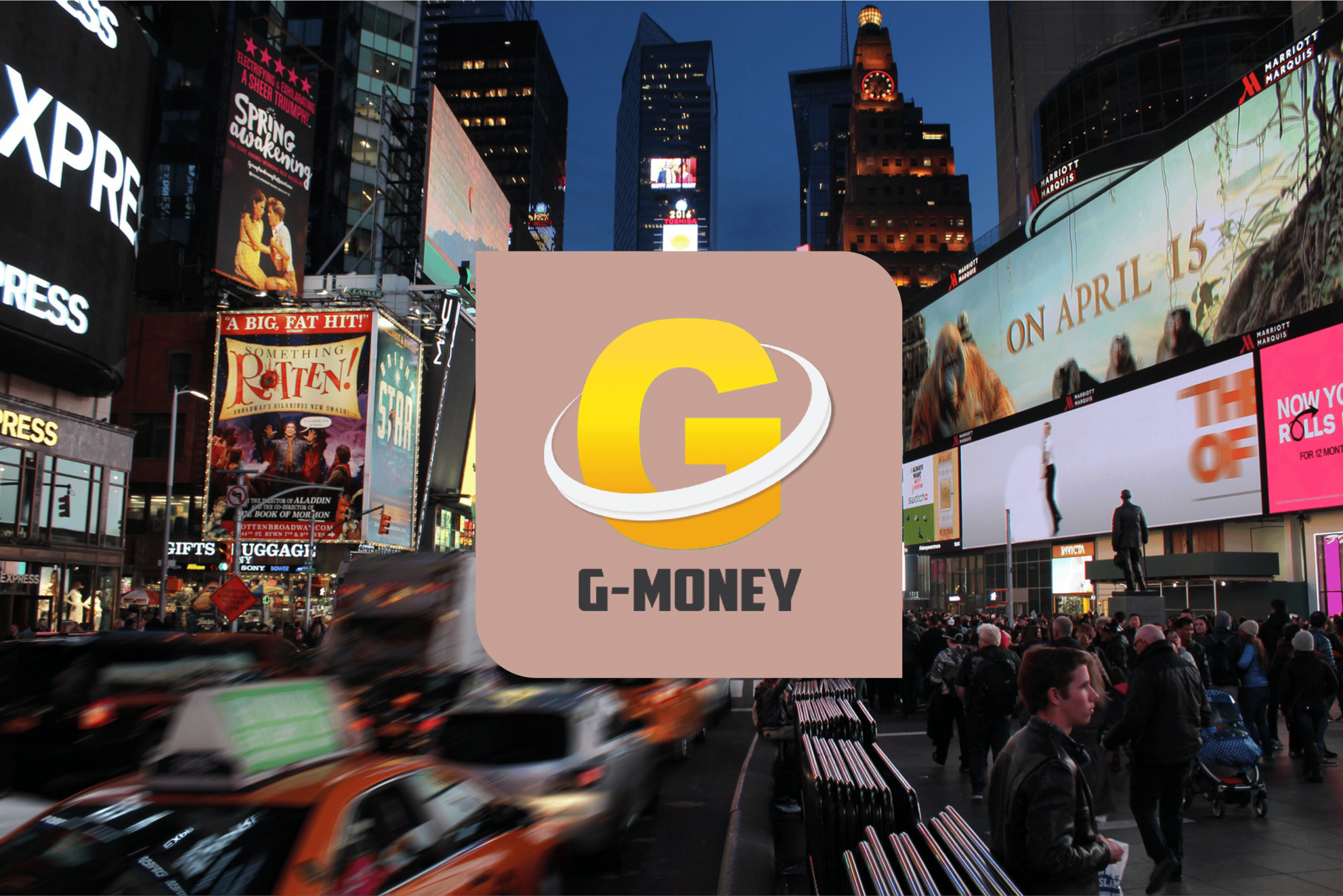 The G-Money wallet: Truly everywhere you go