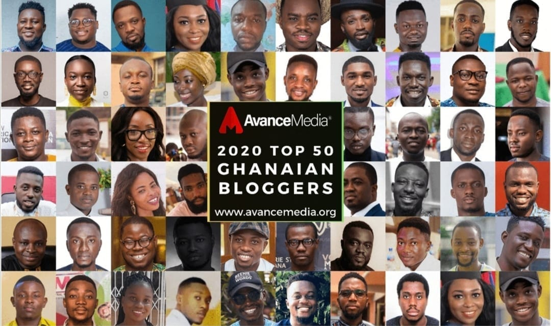 2020 top 50 Ghanaian bloggers ranking