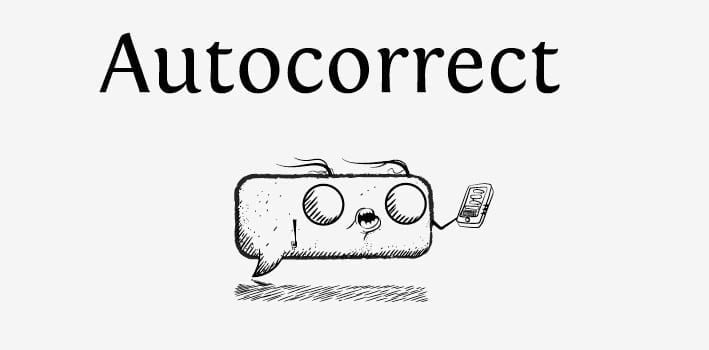 turn off autocorrect Android