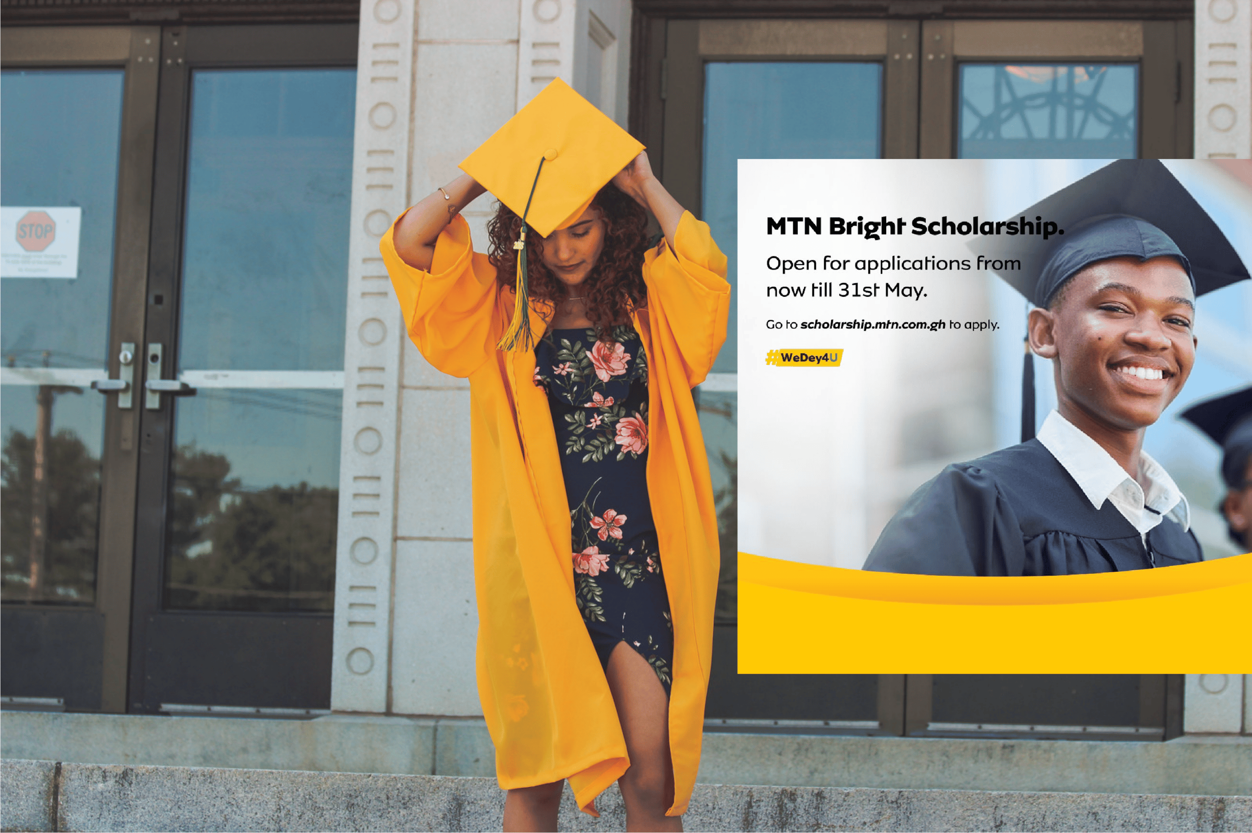 2020 Bright Scholarship: MTN Ghana invites tertiary level students to apply