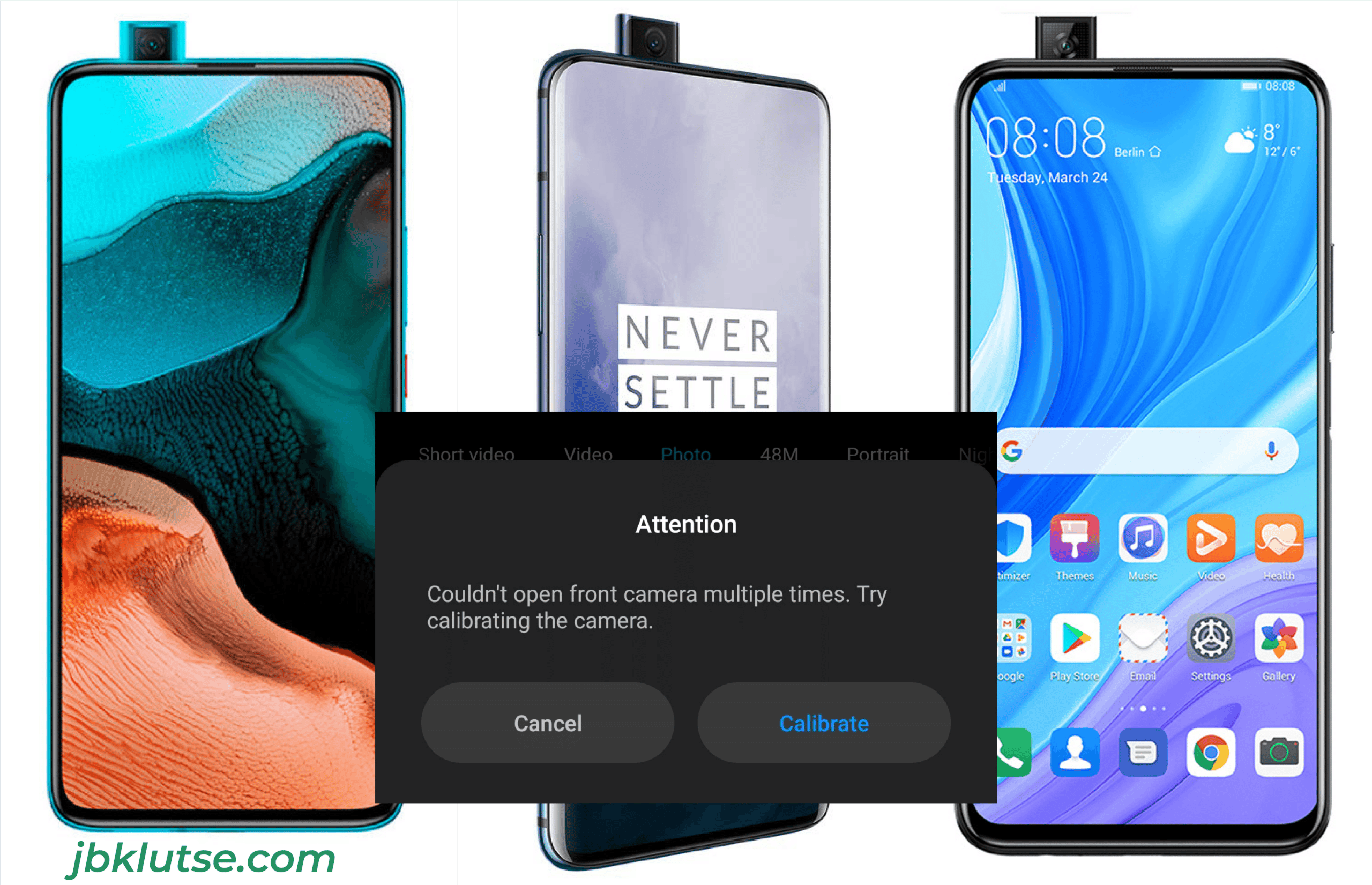 Smartphone pop up camera not working? Here's the solution