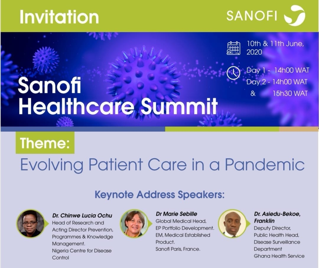 Sanofi virtual summit healthcare practitioners