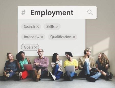 students find job after college