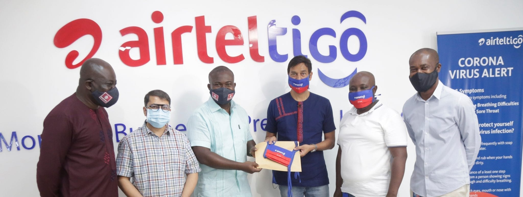 AirtelTigo supports 'Mask4All' campaign with 5,000 pieces of face masks for the underprivileged