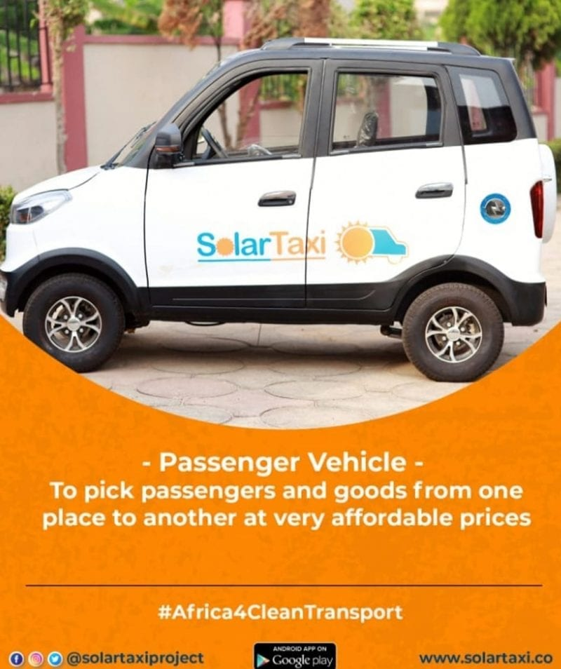 SolarTaxi: Want to save on transportation cost? Read this!