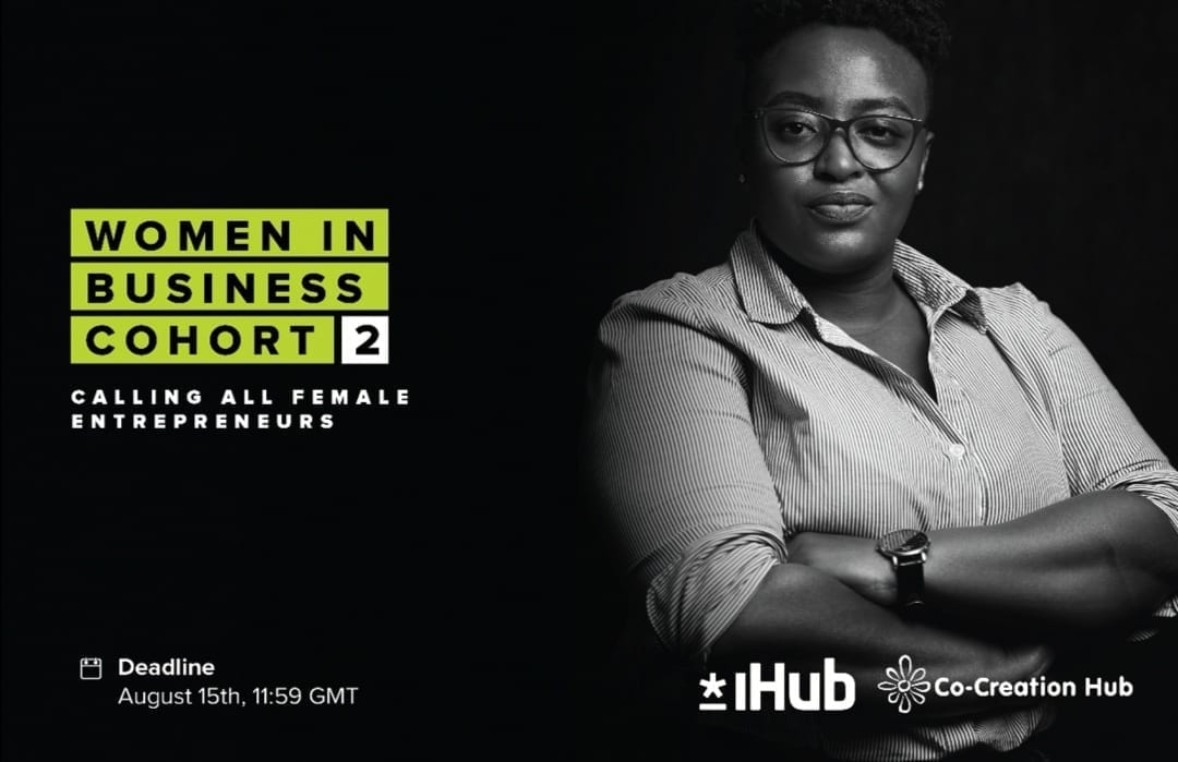 CcHub announces the 2nd edition of the Women in Business Cohort Program