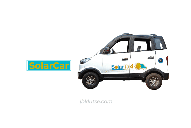 Cars without petroleum fuel? Yes, SolarCar from SolarTaxi