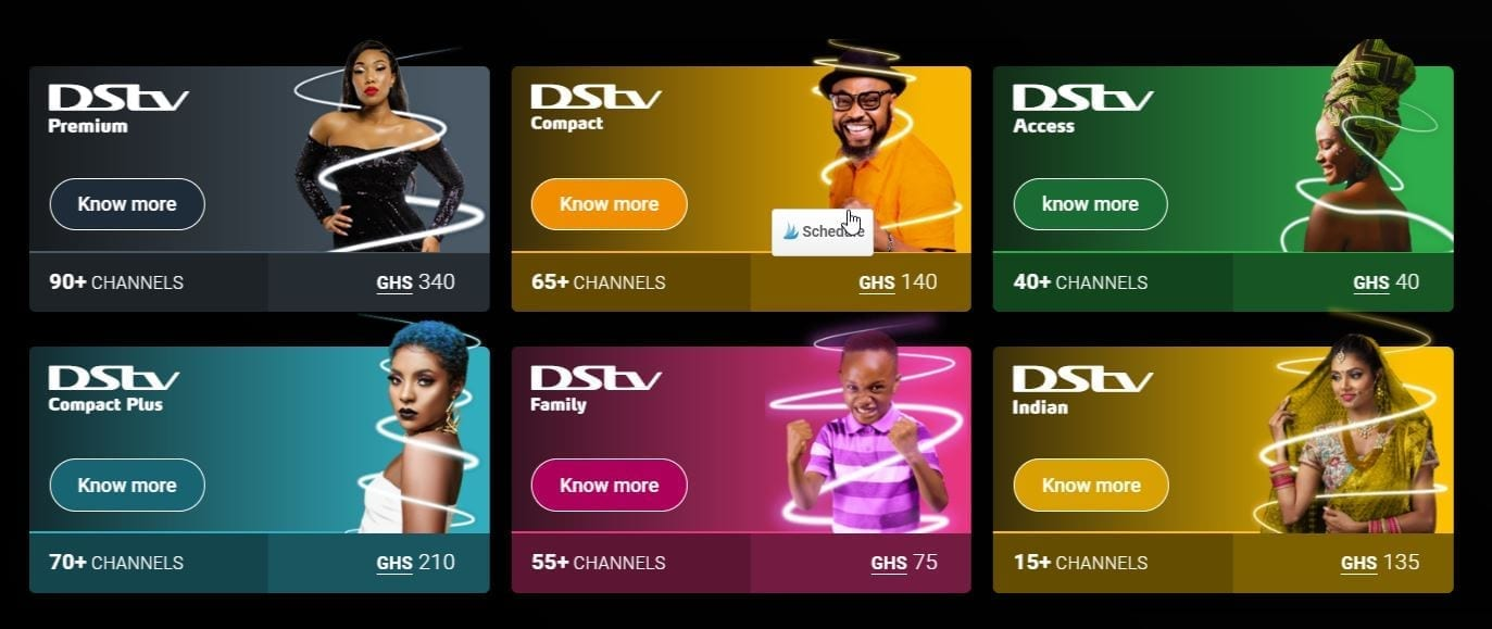 DStv Ghana: Packages, subscription, channels, contact and more