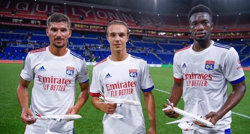 Emirates and Olympique Lyonnais unveil the official 20/21 home jerseys