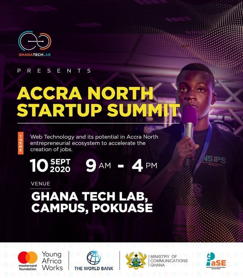 Ghana Tech Lab presents the Accra North startup summit